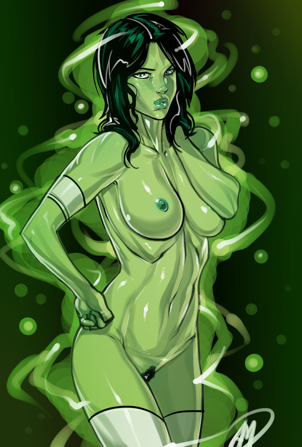 green torrent animated lantern series the Cum shot on tits gifs
