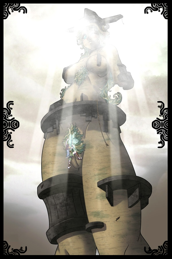 avion shadow colossus the of Gay furry porn comic daddy issues