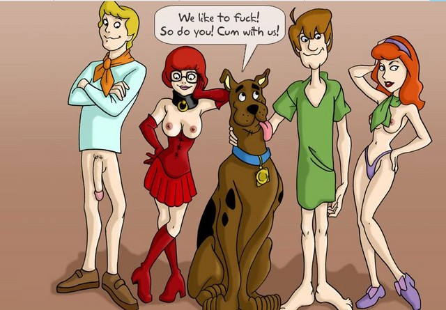 scooby-doo Brandy & mr whiskers porn
