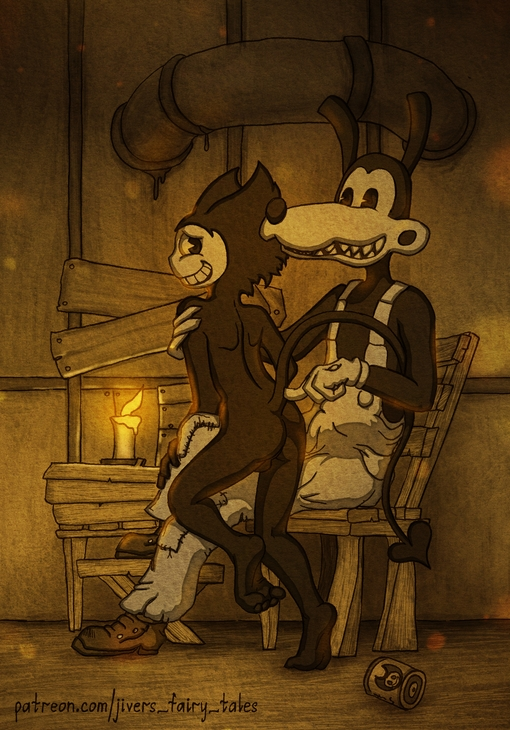 machine and bendy ink gay porn the Samurai champloo jin and mugen