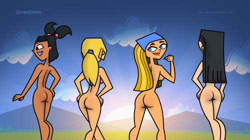 naked total heather drama island Link breath of the wild hentai