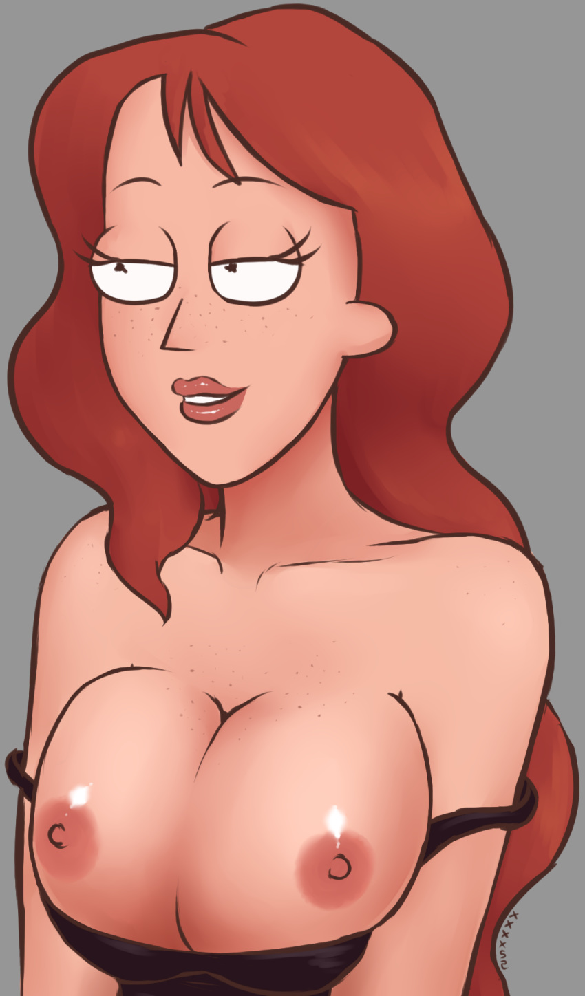 ma-sha and rick morty A sexy naked girl cocooned in a spider's web