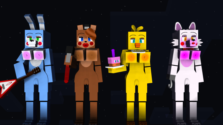 toy bonnie x chica withered Tripping the rift six deviantart