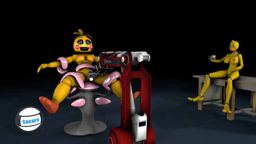 withered x chica bonnie toy Cum powered maid bot hentai