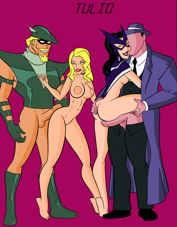 kiss black and huntress canary Courage the cowardly dog villains list